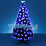 Εντυπωσιακό Χριστουγεννιάτικο Δέντρο Οπτικής ίνας LED Blue Light 180εκ.
