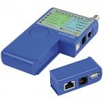 Πολυλειτουργικό Tester Καλωδίων Δικτύου KONIG - CMP-RCT 21