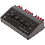 Συσκευή για Σύνδεση 4 Σετ Ηχείων 8Ω σε 1 Ενισχυτή HQ PRE SWITCH-4