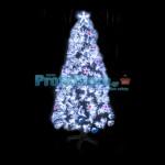 Εντυπωσιακό Χριστουγεννιάτικο Δέντρο Λευκής Οπτικής ίνας LED Majesty 150εκ.