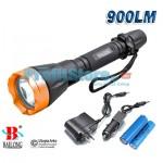Αδιάβροχος  Φακός CREE LED 900LM 50m BAILONG BL-8783-T6
