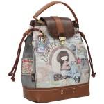 Τσάντα Ώμου-Χειρός Πουγκί ANEKKE MOON AN23714.2
