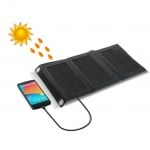 Αναδιπλούμενο Αδιάβροχο Ηλιακό panel για Φόρτιση USB Συσκευών