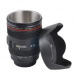 Κούπα σε Σχήμα Φακού Φωτογραφικής Μηχανής με Καπάκι & Ανοξείδωτο Εσωτερικό