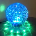 Φωτορυθμική Μπάλα για Πάρτυ LED Sunflower με Εναλλαγή Χρωμάτων