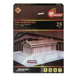 Επιτραπέζιο Παιχνίδι 3D Puzzle ΠΑΡΘΕΝΩΝΑΣ Β1883-2 N
