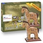 Επιτραπέζιο Παιχνίδι 3D Puzzle ΔΟΥΡΕΙΟΣ ΙΠΠΟΣ ZS003 WK2
