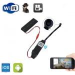 Μίνι Κρυφή Ασύρματη Κάμερα WiFi IP Micro Module SD DVR Spy Cam