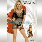 Σέξυ Μίνι Φόρεμα Δίχτυ με Γεωμετρικά Σχέδια VAQUA-81009 - Sexy Lingerie
