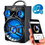 Φορητό Ηχοσύστημα Bluetooth 10W USB/SD/AUX/FM Radio/Multimedia Player KINGWON MS-188BT
