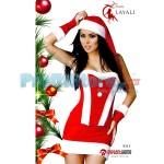 Χριστουγεννιάτικη Γυναικεία Στολή Αη Βασίλη 9329