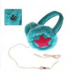 Γούνινα Προστατευτικά Αυτιών & Ακουστικά 2 σε 1