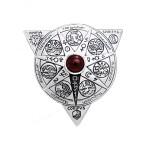 Αλχημική Mandala Φυλαχτό για Καθολική Μεταμόρφωση Πνεύματος Ψυχής και Σώματος 925° TPD1123