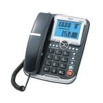 Τηλέφωνο Επιτραπέζιο Telco GCE 6122 Μαύρο Αναγνώριση Κλήσης