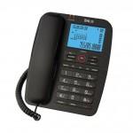 Επιτραπέζιο Τηλέφωνο Ενσύρματο Telco GCE-6215 Μαύρο