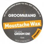 Σκληρό Χειροποίητο Κερί για Μουστάκι - Groomarang Moustache Wax 15ml