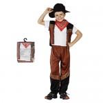 Αποκριάτικη Παιδική Στολή  Cowboy  098697-XL