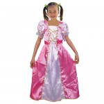Αποκριάτικη Παιδική Στολή   Πριγκίπισσα  Ροζ   D1-1861D