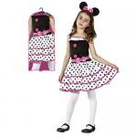 Αποκριάτικη Παιδική Στολή  Ποντικίνα Ροζ  098698