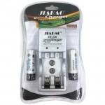 Φορτιστής Επαναφορτιζόμενων NiCD - NiMH Μπαταριών + 2xAA Μπαταρίες Δώρο