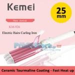 Τριπλό Ηλεκτρικό Ψαλίδι Μαλλιών Τουρμαλίνης 25mm - KEMEI KM-926