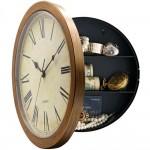 Απίθανη Κρύπτη για τα τιμαλφή σας σε Ρολόι Τοίχου TESKA BR25