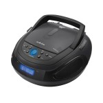 Φορητό Ράδιο-Cd Player MP3 USB Bluetooth Audioline Cd1012A Μαύρο