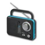 Φορητό Ραδιόφωνο Μπαταρίας Ρεύματος  Audioline TR-412 Μαύρο Μπλε