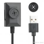 Κρυφή Κάμερα Κουμπί Καταγραφικό USB για 24ωρη Καταγραφή - Button Spy Camera 24/7 DVR S918U