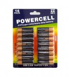 Μπαταρίες Powercell AA Super Extra Heavy Duty - 16τμχ.