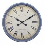 Ρολόι Τοίχου Γίγας Vintage 50cm ART1172-BLUE