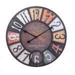 Ρολόι Τοίχου Γίγας Vintage 58cm ART1182-PARIS-HOTEL
