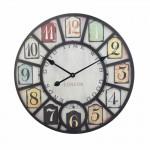 Ρολόι Τοίχου Γίγας Vintage 58cm ART1183-LONDON