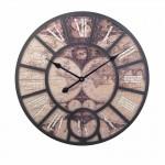 Ρολόι Τοίχου Γίγας Vintage 58cm ART1184-GLOBE