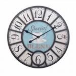 Ρολόι Τοίχου Γίγας Vintage 58cm ART1186-BLEND