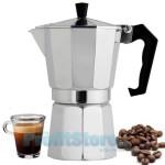 Καφετιέρα Αλουμινίου Espresso για 3 Φλιτζάνια - Silver