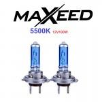 Λάμπες Αυτοκινήτου Τύπου MAXEED XENON Η7 5.500K 100W - Σετ 2 Τεμαχίων