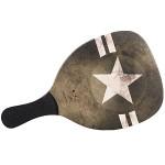 Ρακέτα Παραλίας  Army Star με Μαύρη Ίσια Λαβή MORSETO FASHION