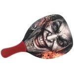 Ρακέτα Παραλίας  με Κόκκινη Ίσια Λαβή MORSETO FASHION Happy Clown