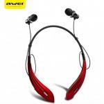 Ασύρματα Handfree Sport Ακουστικά Bluetooth Άθλησης Neckband με Μαγνήτες Awei