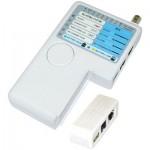 Πολυλειτουργικό Tester Καλωδίων Δικτύου Cable Tester RJ45/USB/COAX/UTP DRAKAT DK-421