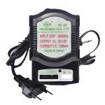 Τροφοδοτικό Πολυπάκ 1200mAh με 4 βύσματα για κάθε τύπο συσκευής NSB-2008