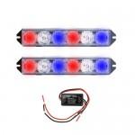 Φώτα Αστυνομίας Περιπολικού LED - 12V Φάρος Έκτακτης Ανάγκης Αυτοκινήτου