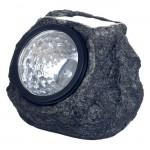 Ηλιακό Φωτιστικό σε Σχήμα Βράχου με 4 LED Solar Powered Outdoor Light 99002