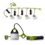 Φορητή Λάμπα/Φακός Αλυσιδωτής Σύνδεσης LED USB 200Lm με Γάντζο Στήριξης - Light-A-Light