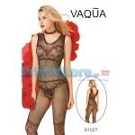 Ολόσωμο Σέξι Καλσόν Δίχτυ και Σχέδια από Δαντέλα 81027 - Sexy Lingerie Bodystockings