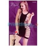 Σέξι Μίνι Φόρεμα με Σκισήματα στο Πλάι 8204 - Sexy Lingerie Bodystockings
