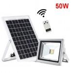 Ηλιακός Προβολέας Superbright 1150Lm LED 50W IP65 6000K με Τηλεχειριστήριο