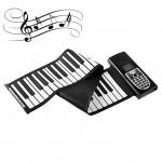 Αρμόνιο που τυλίγεται Synthesizer - Πιάνο με Ηχείο & 49 Πλήκτα Αφής με Αυτόματες Συγχορδίες
