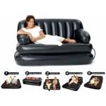 Διπλός Πολυλειτουργικός Καναπές Κρεβάτι με Αέρα 5 σε 1